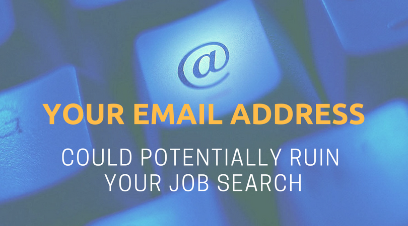 How Email Address Could Ruin Your Job Chances
